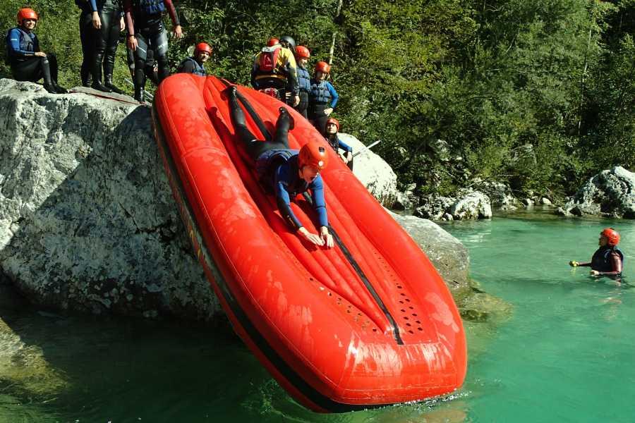 HungaroRaft Kft Vizes kalandok a Soča-folyó völgyében