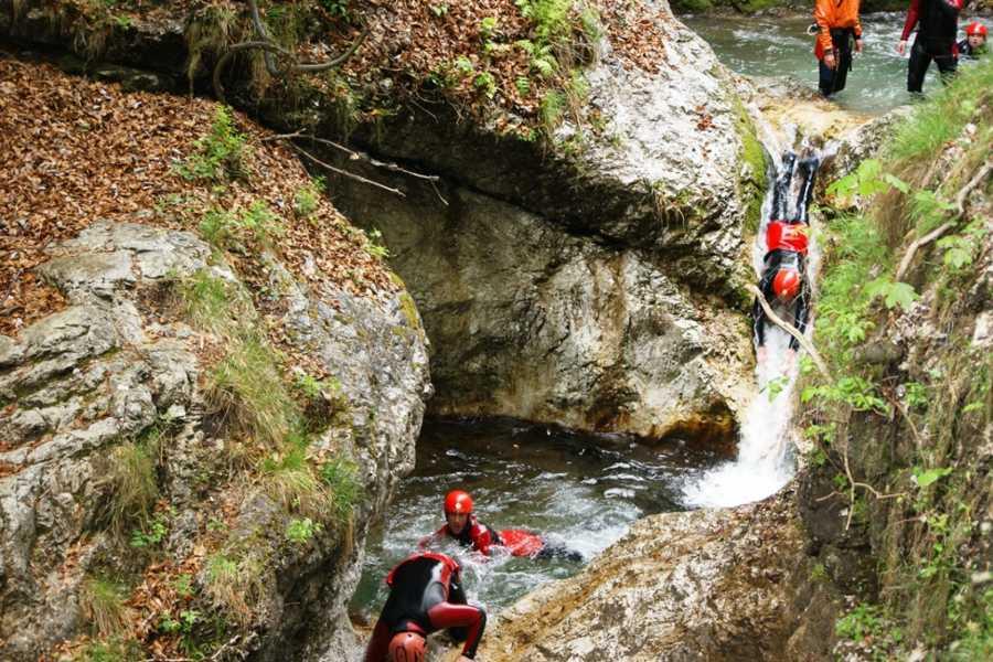 HungaroRaft Kft Canyoning a Sušec-kanyonban - csomag