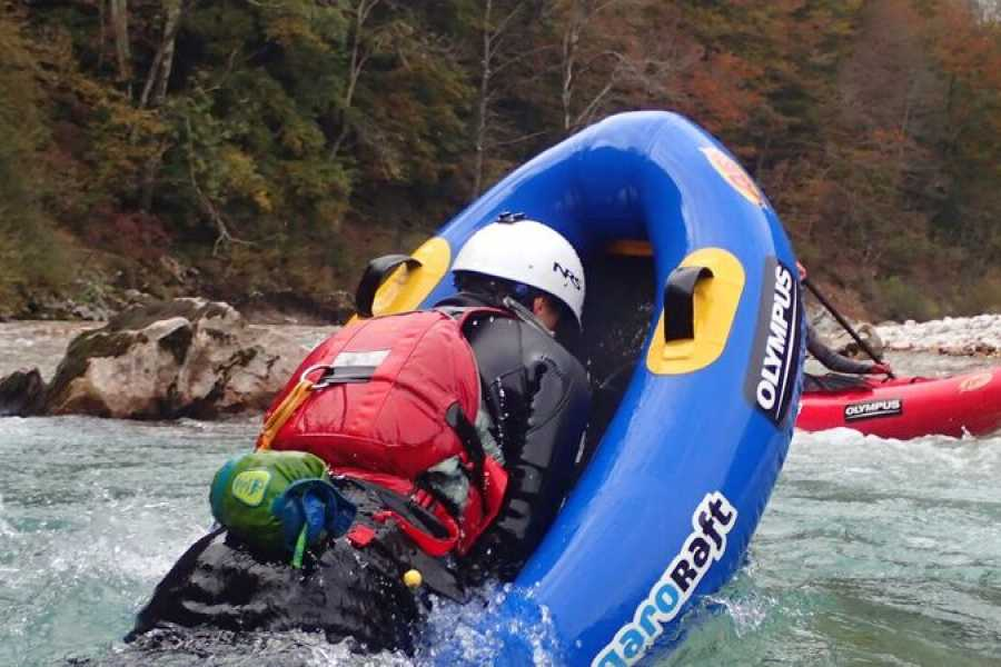 HungaroRaft Kft Gecko tour on river Soča, from Bovec