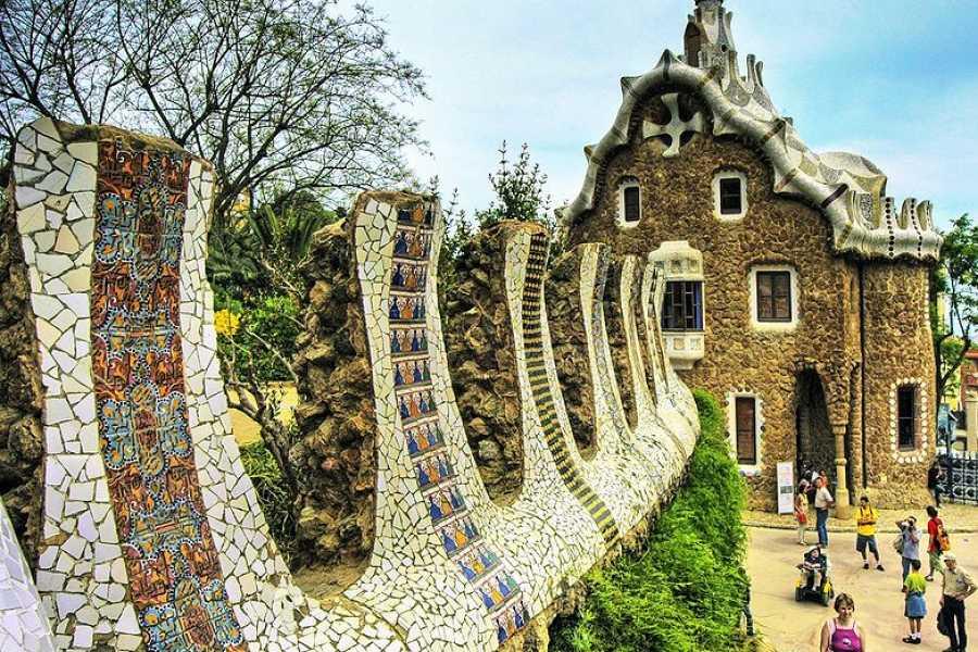 NHUE Park Güell: Tour guiado sin colas