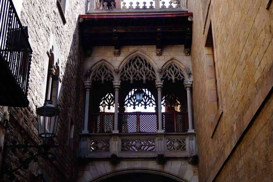 NHUE Barcelona Gothic Quarter: guided walking tour