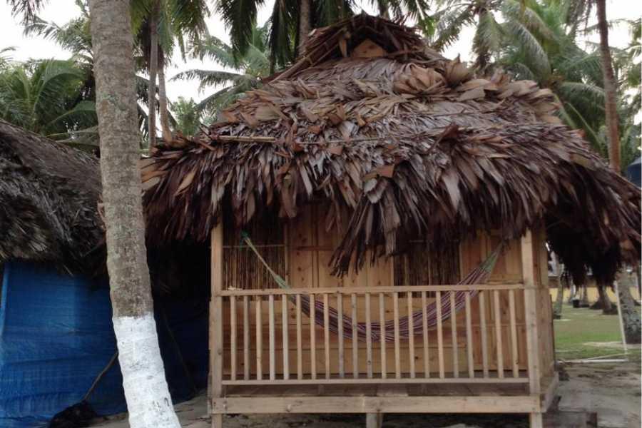 Cacique Cruiser SBA: El Tranquilo -  Private cabana with private restroom