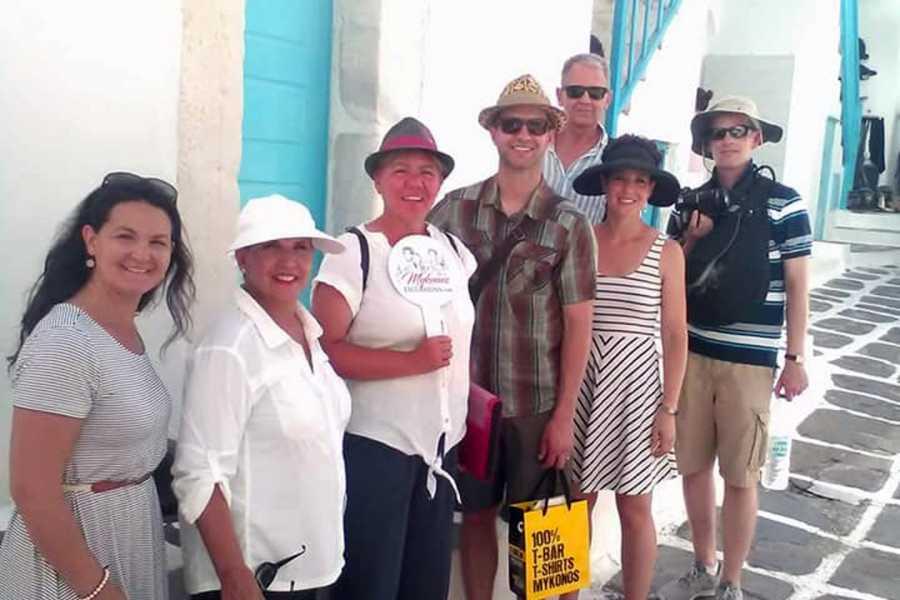Grekaddict Walking Tour of Mykonos Town