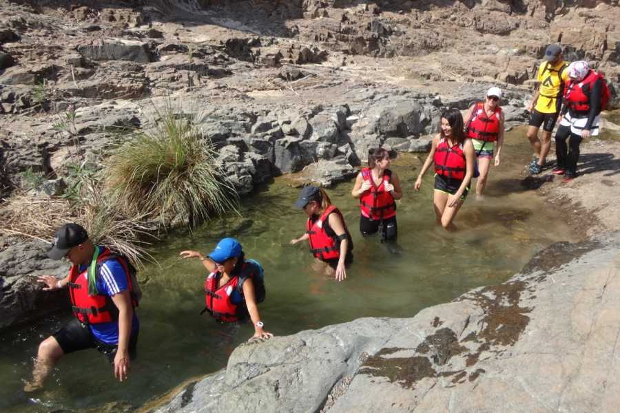 Adventurati Outdoors Canyoning and Wadi Drive with Local Lunch - UAE