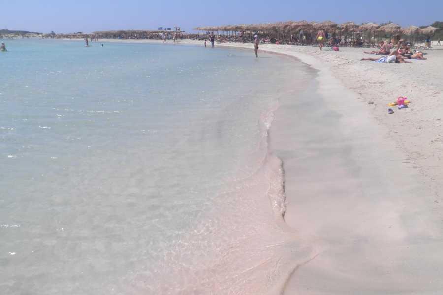 Destination Platanias GRATIS Elafonissi utflykt till paradiset