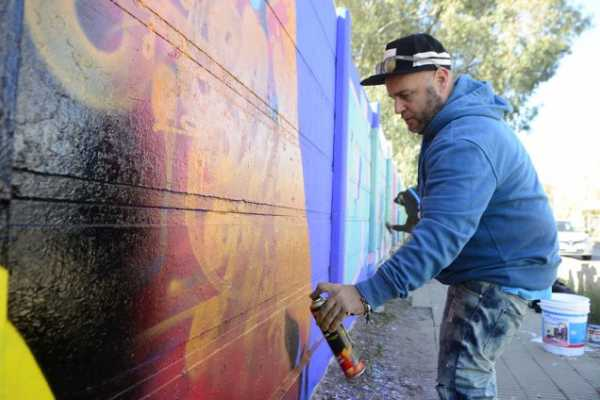 Paint your first graffiti in BA