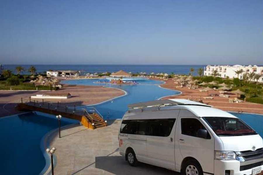 Marsa alam tours Transfer From SUNRISE Marina Resort Port Ghalib To Marsa Alam Airport