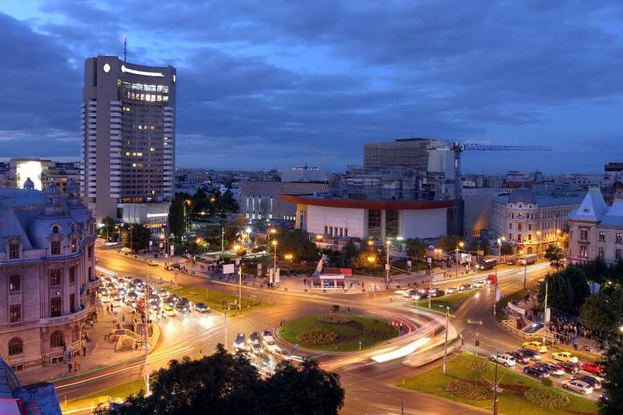 TravelMaker Bucharest Evening Tour & Traditional Dinner - shared - 3 hours