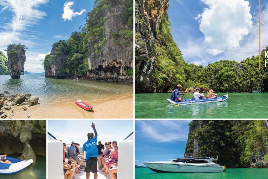 AMICI MIEI PHUKET TRAVEL AGENCY JAMES BOND ISLAND WITH ITALIAN, ENGLISH, SPANISH OR FRENCH TOUR GUIDE (AM239)