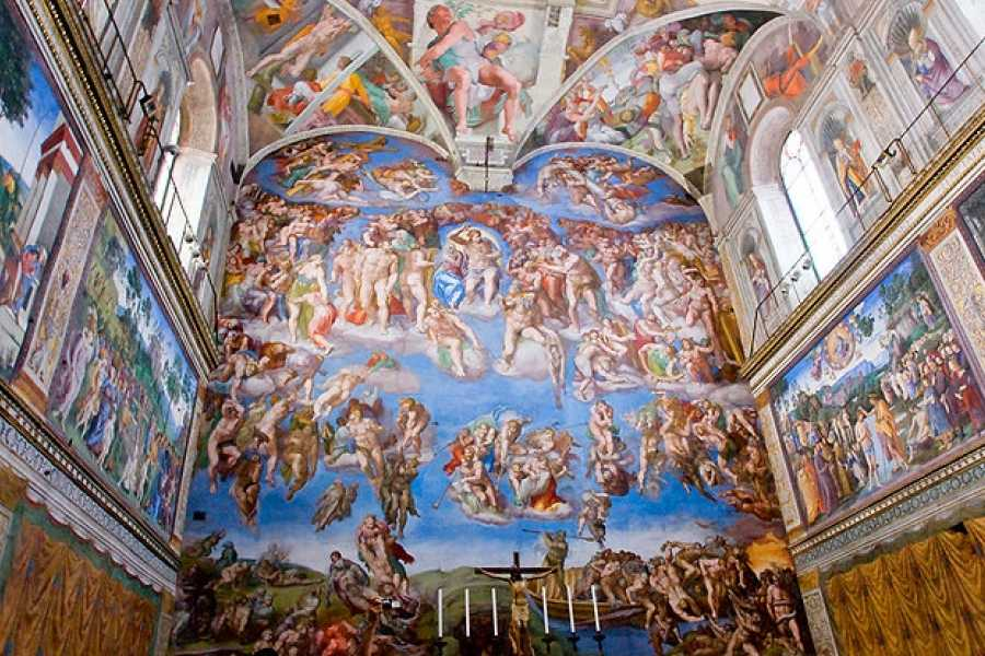 Italy on a Budget tours THE VATICAN & SISTINE CHAPEL TOUR - walking tour