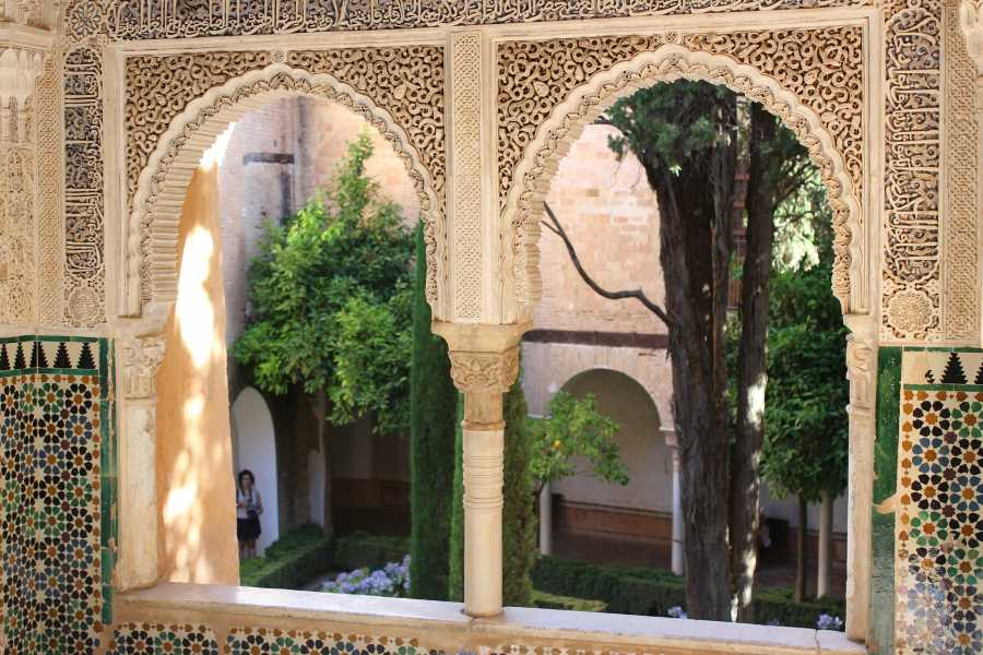 NHUE Alhambra: Nasrid Palaces exclusive tour after closing