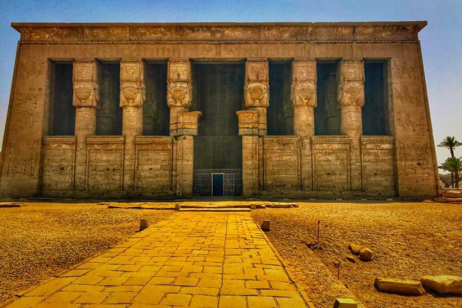EMO TOURS EGYPT LUXOR HALF DAY TOUR VISIT DENDARA TEMPLE