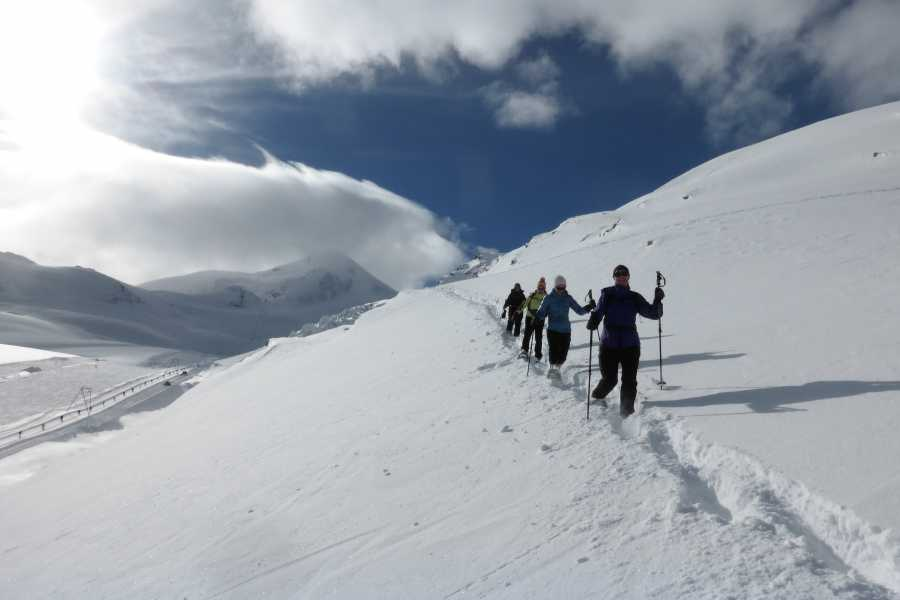 Saas-Fee Guides Snowshoeing Tours