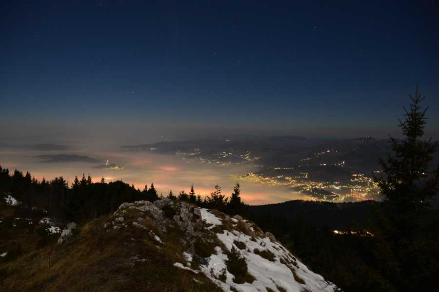 Green Visions Night Hike on Trebevic Mountain