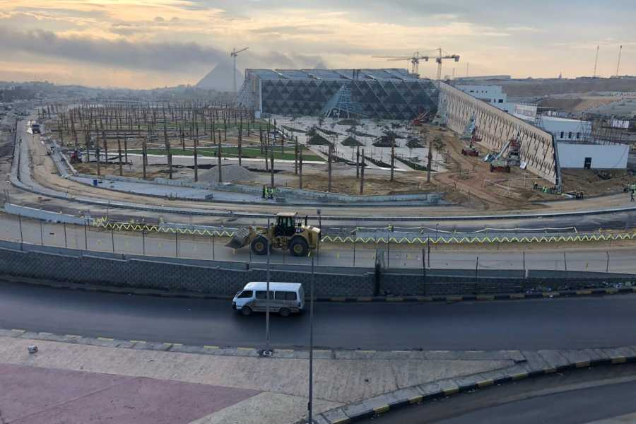 Deluxe Travel Grand Egyptian Museum Site Tour