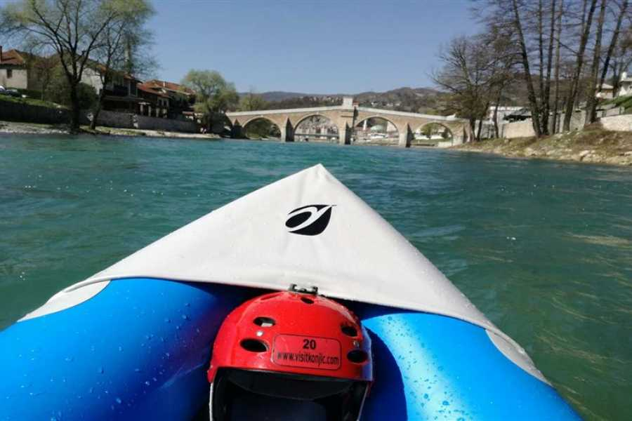 Visit Konjic Mini canoeing tour on Neretva river