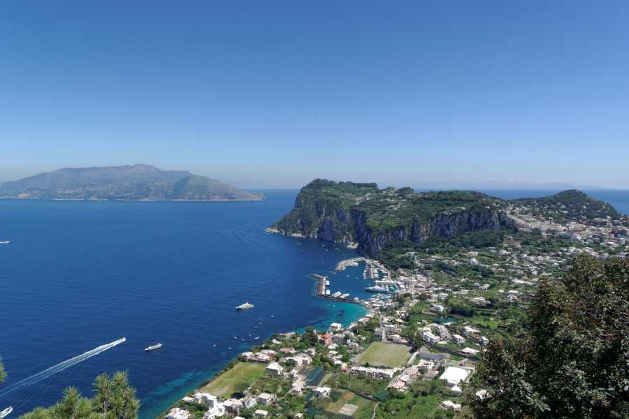 HP Travel Sorrento Coast and Capri Boat Experience from Sorrento