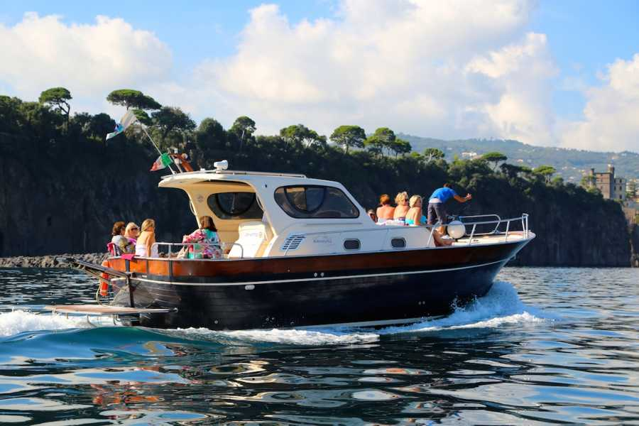 HP Travel Sorrento Coast, Positano and Amalfi Boat Experience from Capri