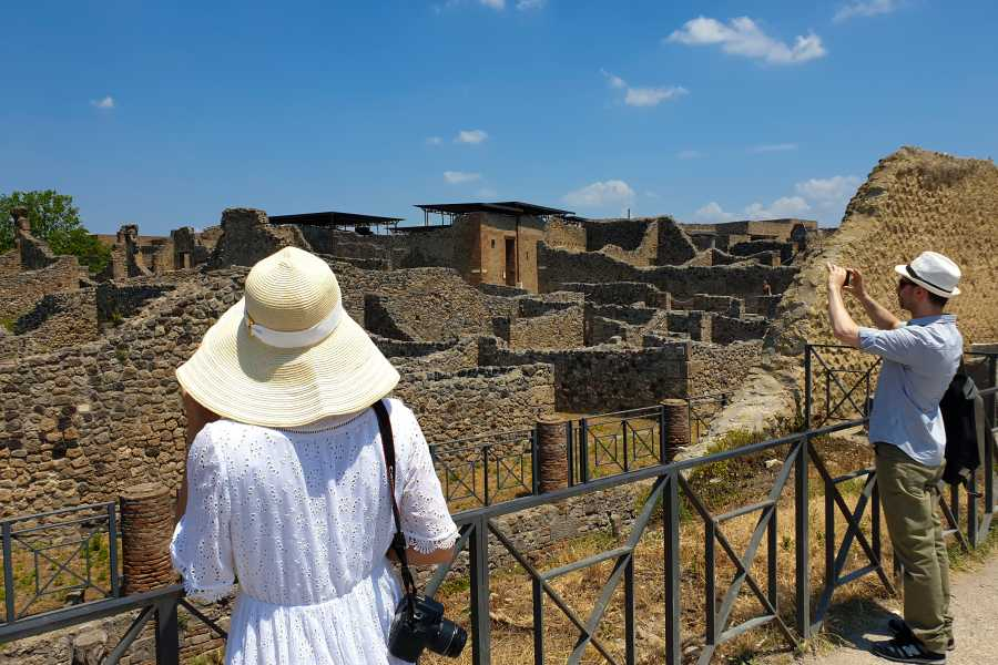 Travel etc Pompei tour with an Official Guide
