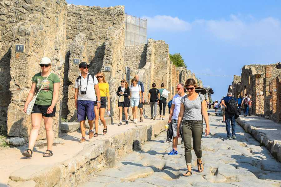 Travel etc Ruins of Pompeii: Guided walking tour with Skip the line ticket