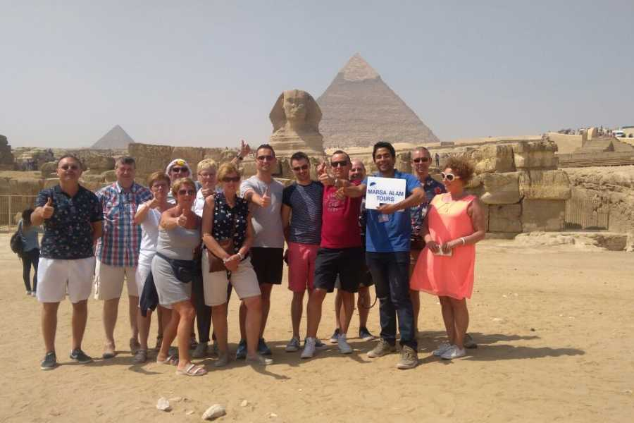 Marsa alam tours Cairo and The Pyramids from Safaga by bus