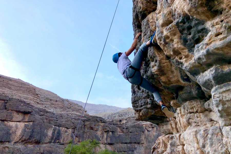 Adventurati Outdoor Rock Climbing + Lunch - UAE