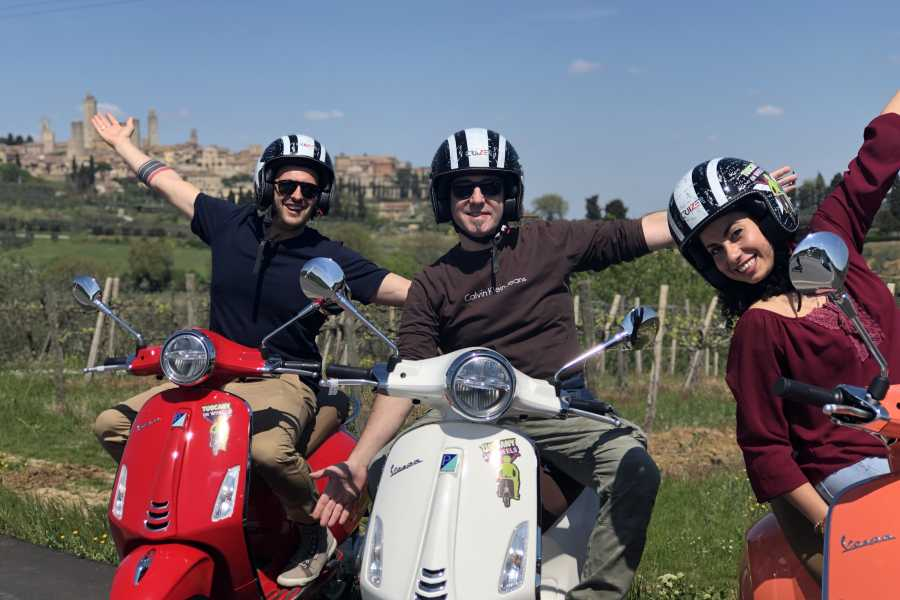 Italy on a Budget tours TUSCANY VESPA TOUR WITH SAN GIMIGNANO FROM FLORENCE
