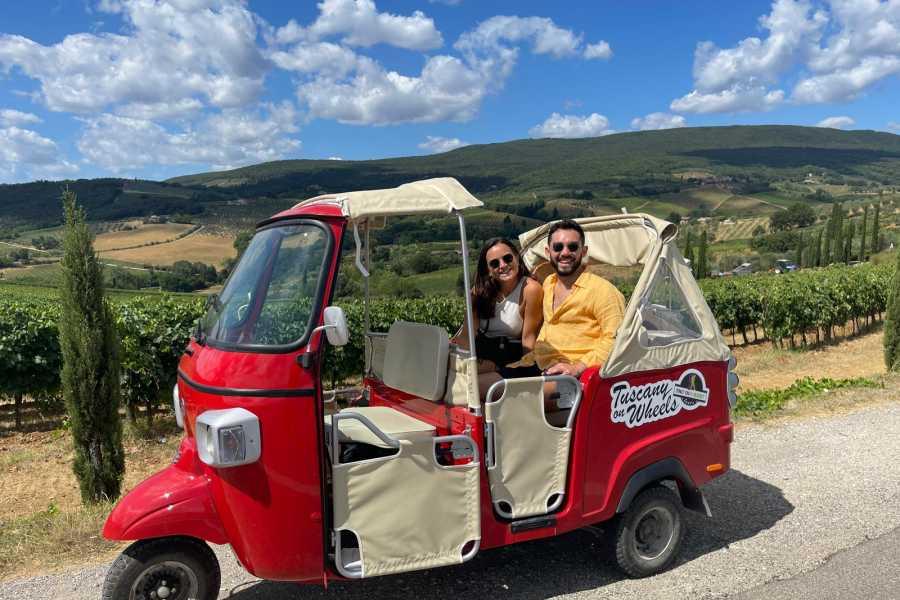 Italy on a Budget tours TUSCANY TUK TUK TOUR PER 2