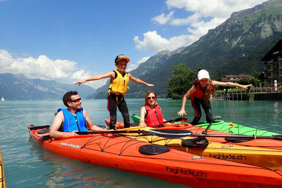 Hightide Kayak School Kajak Spass für Familien