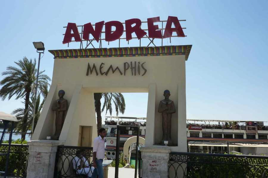 Marsa alam tours Kairo Night Dinner Cruises auf Andrea Memphis