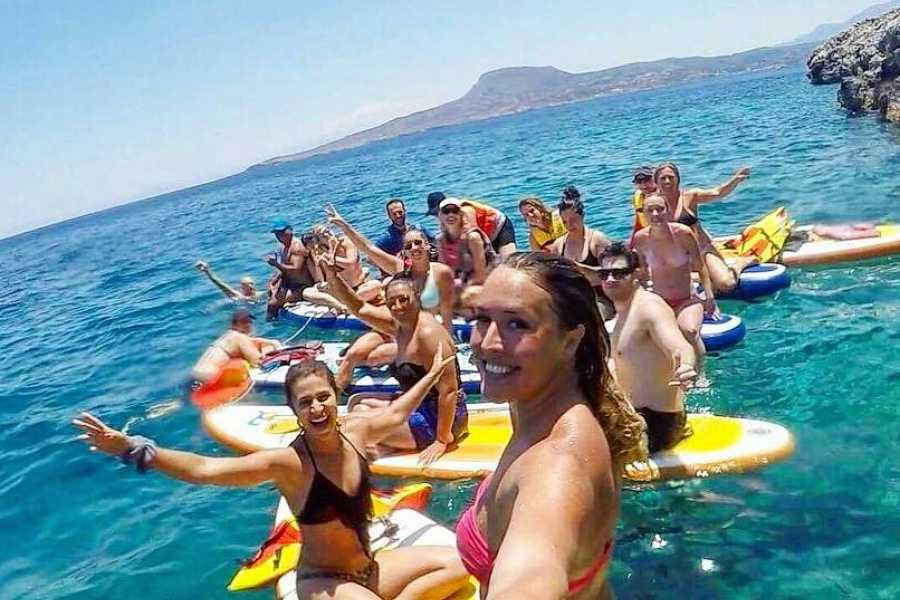 Destination Platanias SUP & Snorkling tour 59 EUR - MORNING