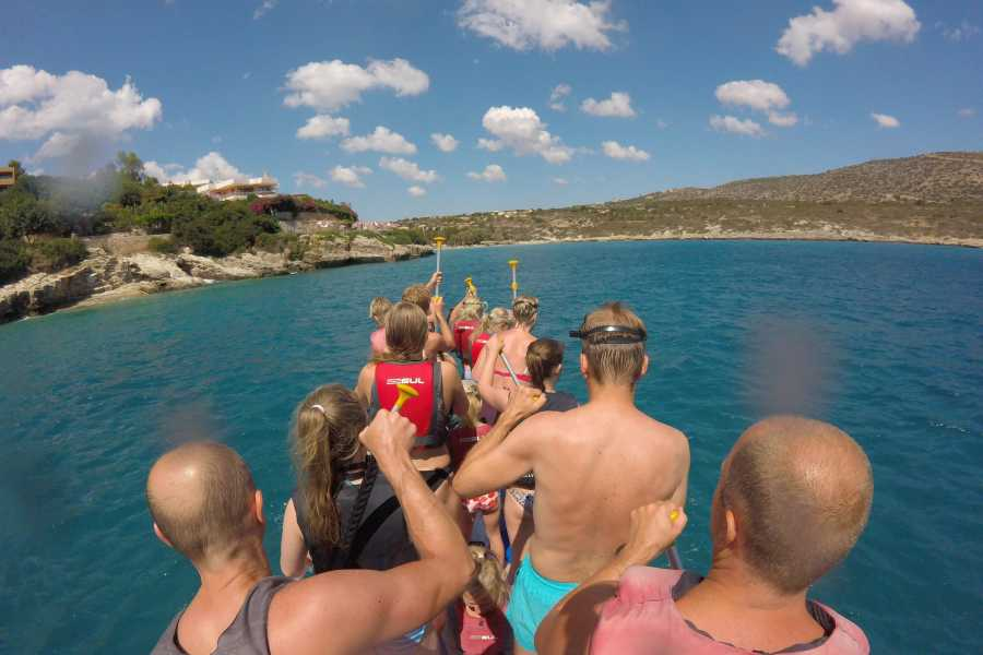Destination Platanias SUP-lautailua & snorklausta  MORNING