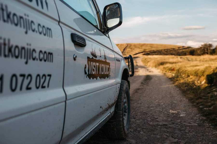 Visit Konjic Jeep + Trekking + Biking tour