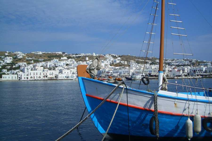 Grekaddict Mykonos and Little Venice Sunset Cruise