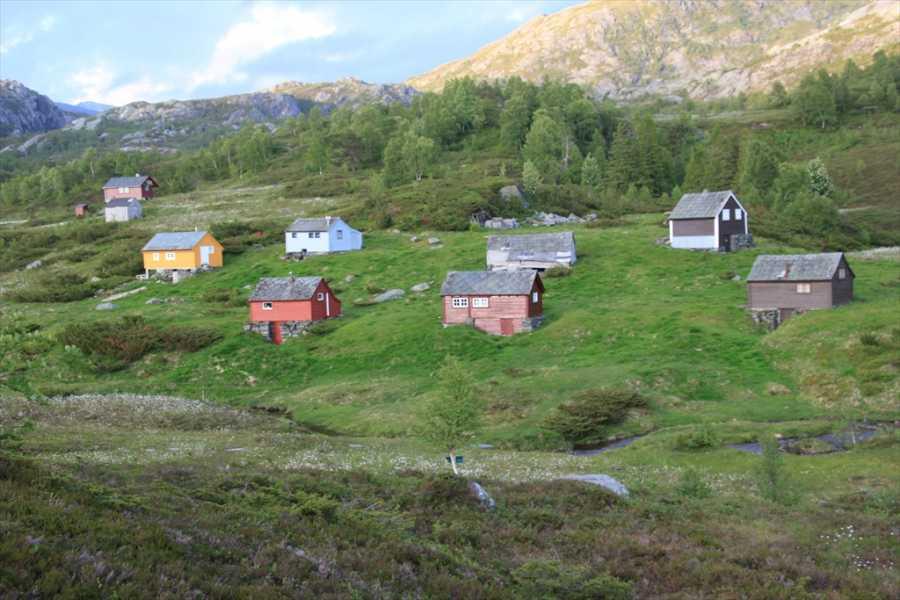 Juklafjord -Jondal Tourist Information 6-Solhaug-Fodnastøl-Vatnasete