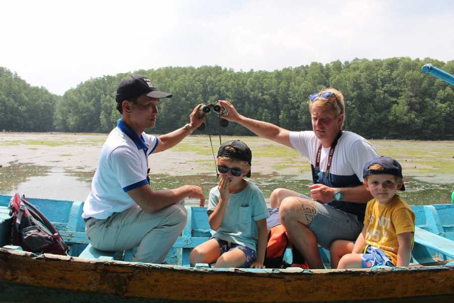 Friends Travel Vietnam Ho Chi Minh - Can Gio Mangrove Forest 01 Day Tour by Luxury Speedboat