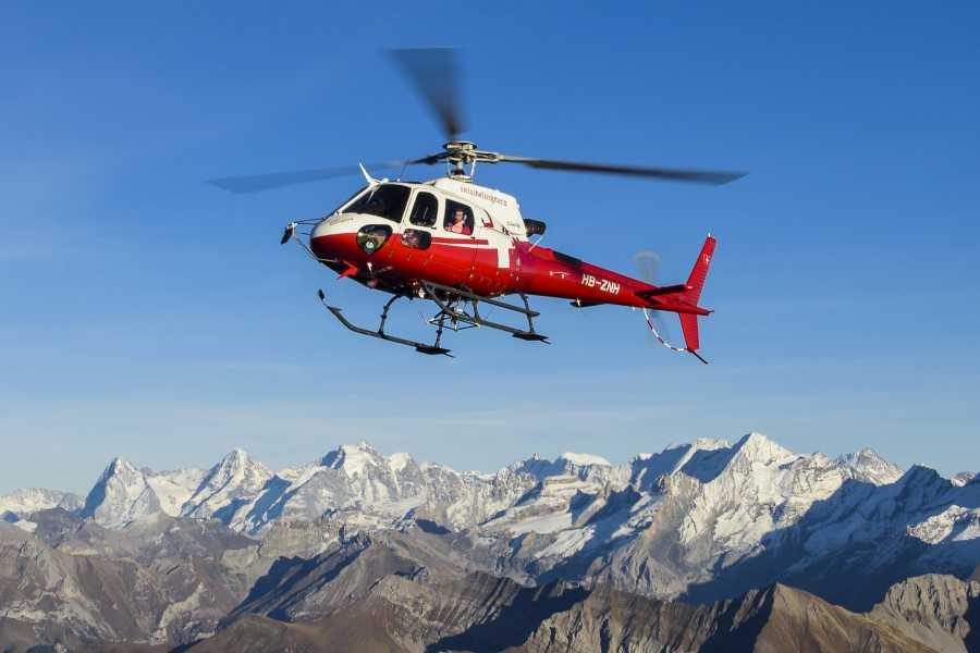 Skydive Interlaken Helikopter Tandem Skydive EIGER