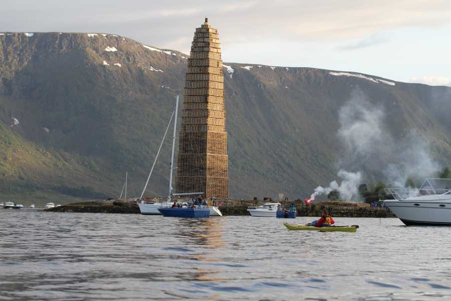 Kayak More Tomorrow 8-Day Arctic Summer Solstice & Wild Fjords Multi Sport Trip