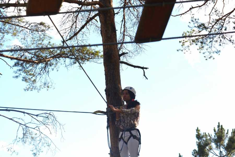 Nature4 Adventure Activity: Tree climbing and Slide