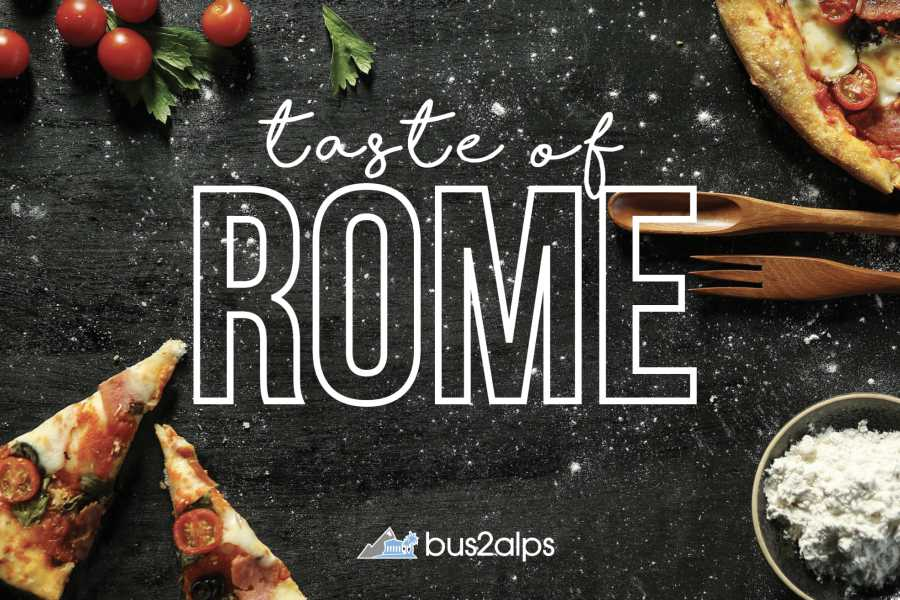 Bus2Alps AG Taste of Rome FREE Food & Drink Tour