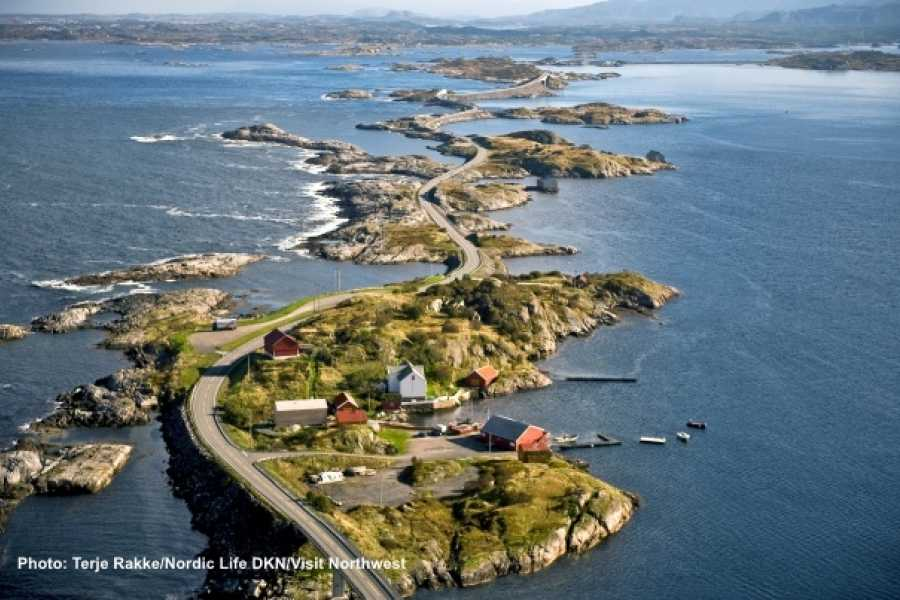 FRAM One way trip to the Norwegian Scenic Route Atlantic Road & Kristiansund