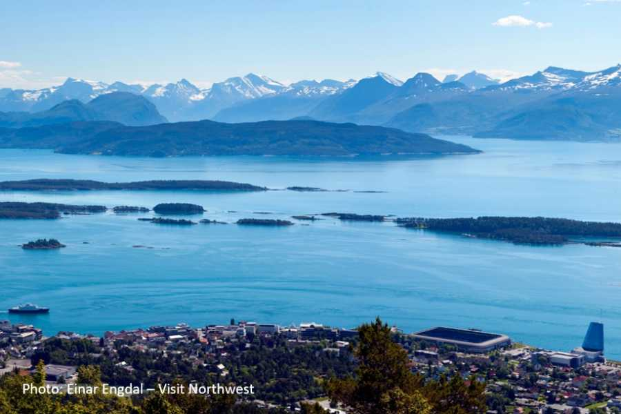 FRAM One way trip to the Norwegian Scenic Route  Atlantic Road & Molde