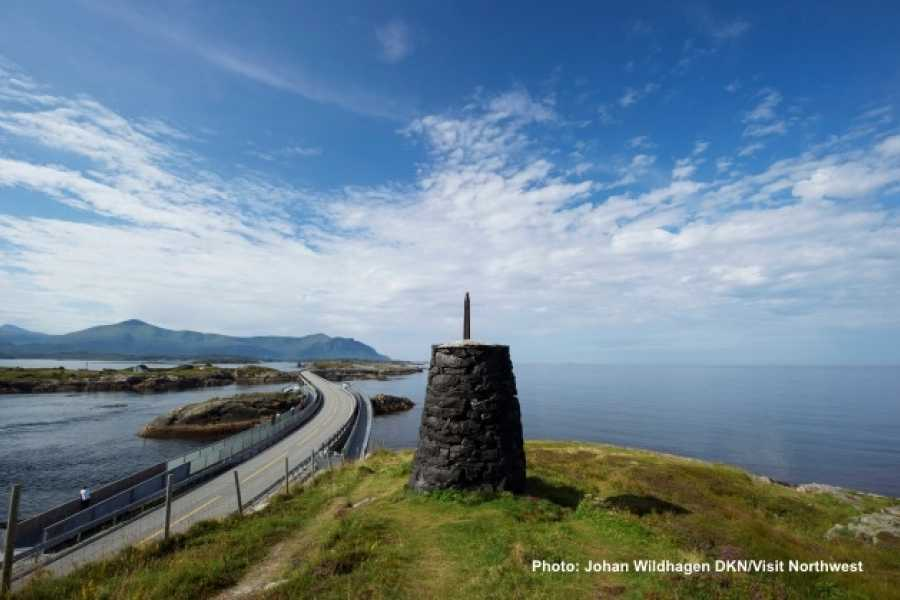 FRAM One way trip to Molde, the Atlantic Road & Kristiansund