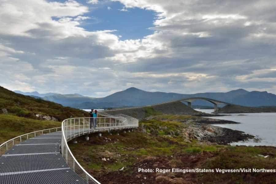FRAM One way trip to the Atlantic Road, Molde & Ålesund