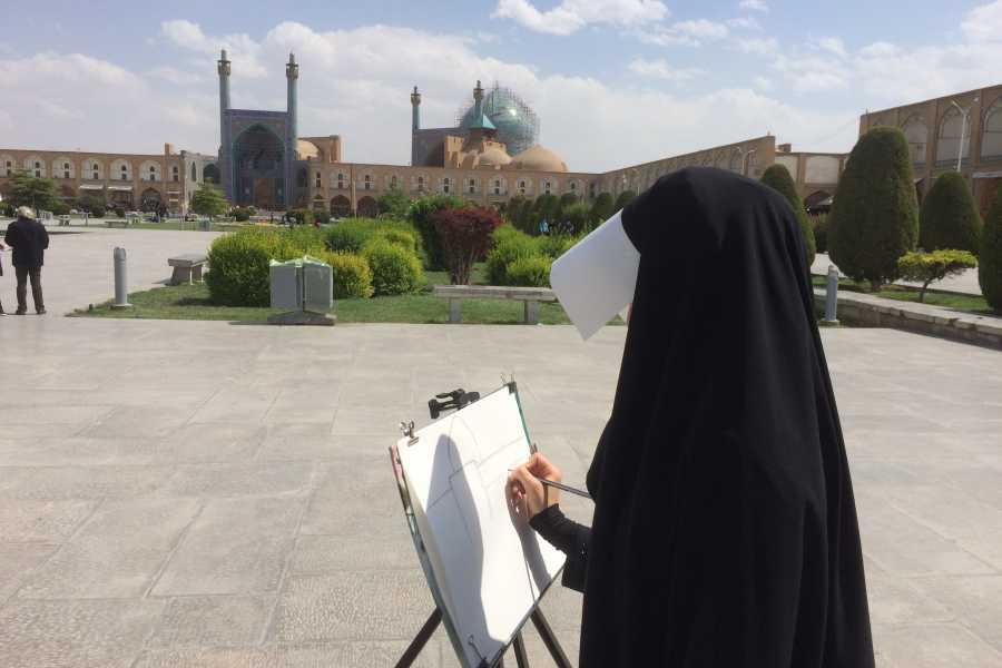 Graffiti Sotto la Lente Iran - Grande Persia capodanno