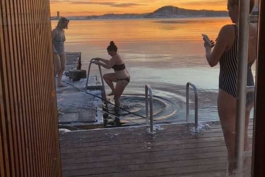 Viking Biking Afternoon Sauna on The Oslo Fjord (3-Hours)
