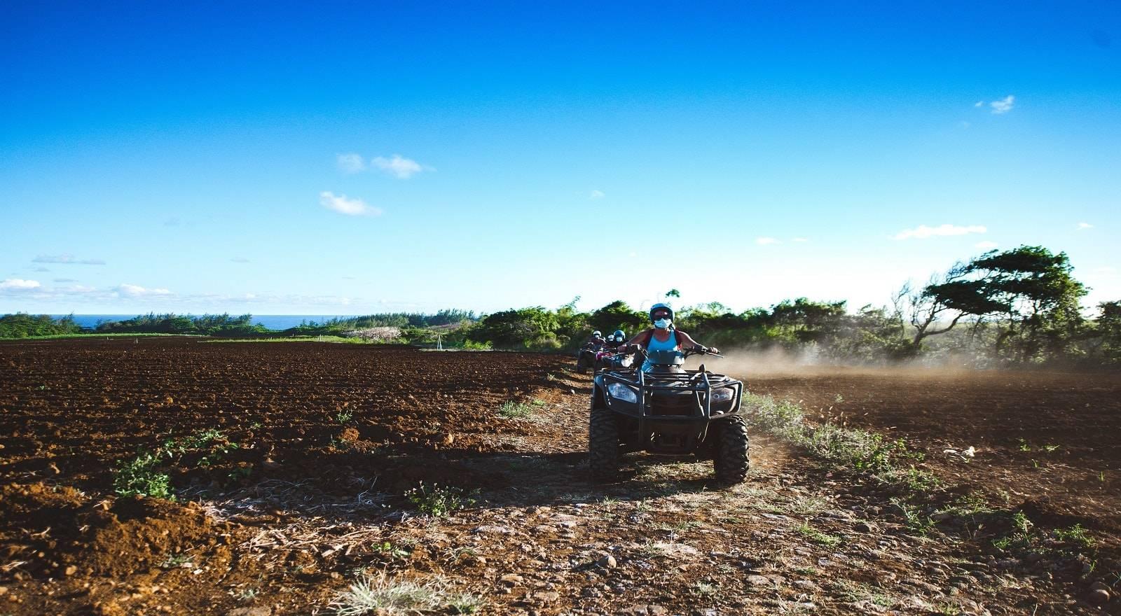 Quadbike Abenteuer – Der Wilde Süden von Mauritius