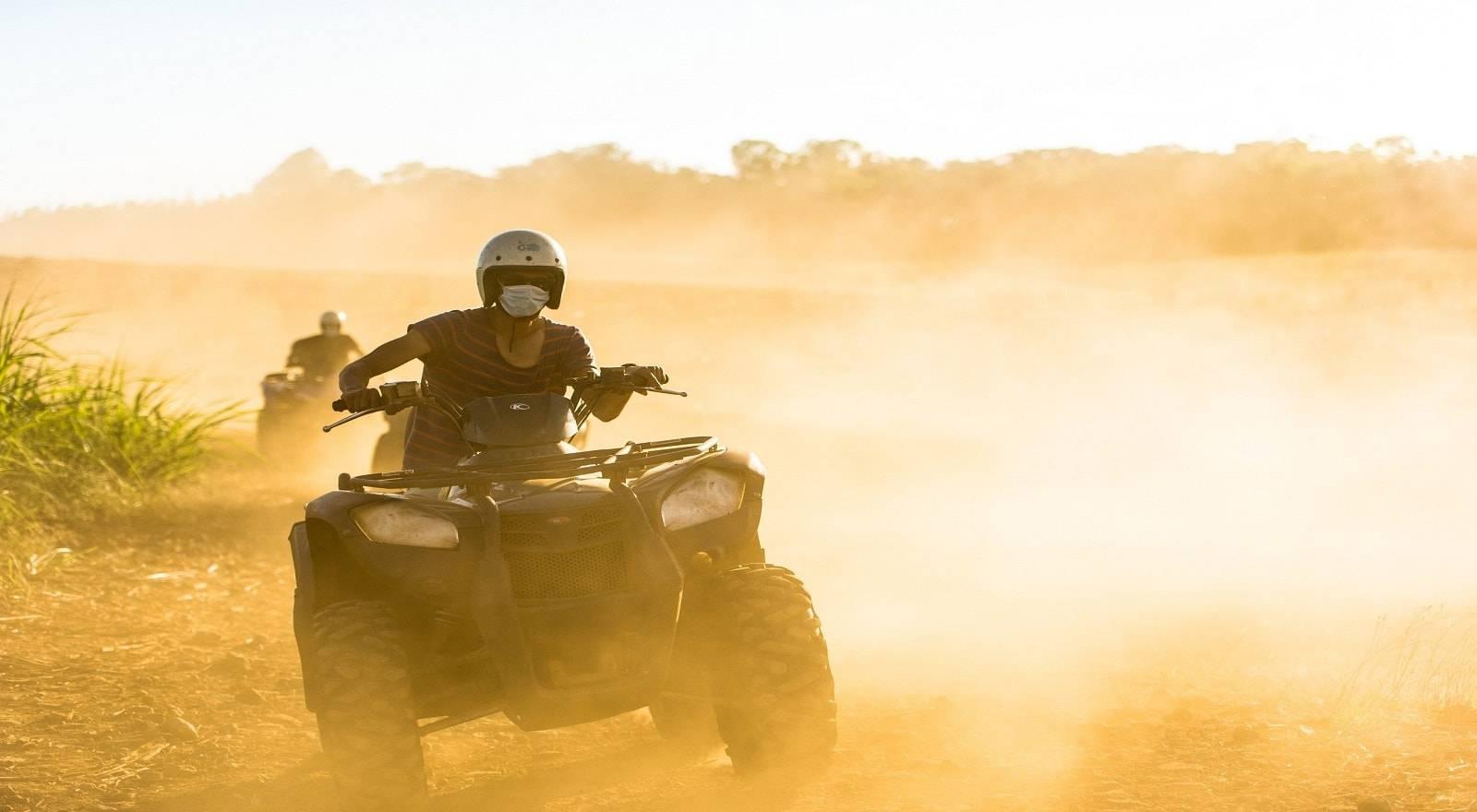 Quadbike Adventure - Wild Southern of Mauritius