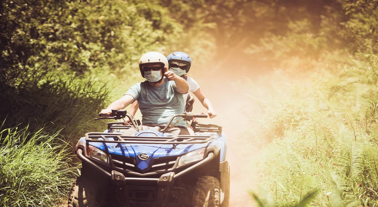 Quadbike Abenteuer in Mauritius - Gute Aussichten