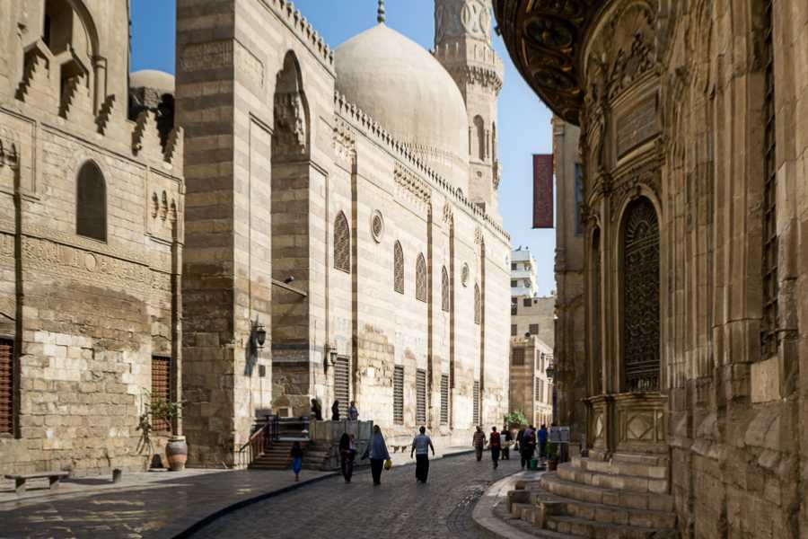 Deluxe Travel Muizz Street and Khan El Khalili Walking Tour